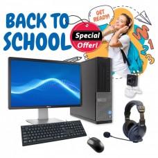 "Bundle Ref.Dell Desktop i5-3470 GA+/Windows Sticker7P/Mon.Dell LED 22"" GA/Σετ K/B-Mouse/Ακουστικά με Μικρ.και Webcam pn:C0073"