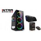 INTRA PC GAMING, INTEL CORE i5 10400F, 8GB DDR4 2666MHz, NVIDIA VGA GF GTX1650 4GB, 256GB SSD NVMe, LAN GB, MIDI TOWER, 500W PSU, MS WIN10 HOME, 3YW.