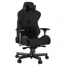 ANDA SEAT Gaming Chair T-PRO II Black FABRIC with Alcantara Stripes pn:AD12XLLA-01-B-F