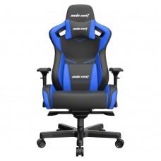 ANDA SEAT Gaming Chair AD12XL KAISER-II Black-Blue  Part No: AD12XL-07-BS-PV-S01