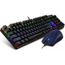 Motospeed CK666 Wired mechanical keyboard mouse combo Rainbow (MT00069)