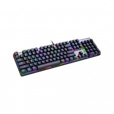 Motospeed CK104 Wired mechaninal keyboard RGB GR Layout Black Red Switces MT00003