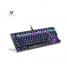 Motospeed K83 Bluetooth mechaninal keyboard GR Layout Rainbow Red Switch MT00015
