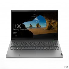 LENOVO Laptop ThinkBook 15-ARE 15.6'' FHD, IPS/R5-4500U/16GB/512GB SSD/Radeon Graphics /Win 10 Pro/2Y NBD/Grey Part No: 20VG0007GM