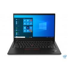 LENOVO Laptop ThinkPad X1 Carbon 8th Gen 14'' 4K IPS, HDR/i7-10510U/16GB/1TB SSD/Intel UHD Graphics/4G/Win 10 Pro/3Y NBD/Black pn: 20U9005BGM
