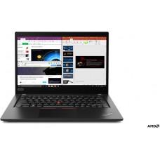 LENOVO Laptop ThinkPad X395 13.3'' FHD WVA/R7 Pro-3700U/16GB/512GB SSD/AMD Radeon Vega 10 Graphics/Win 10 Pro/3Y NBD/Black pn:20NL000HGM