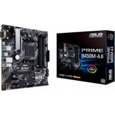 ASUS MOTHERBOARD PRIME B450M-A II,AM4 ,MATX Part No:   90MB15Z0-M0EAY0