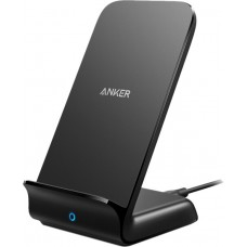 ANKER POWERWAVE+ STAND WIRELESS CHARGER BLACK Part No:   A2526HF1