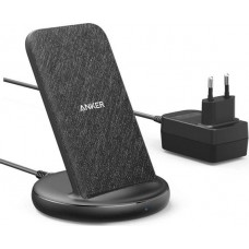 ANKER POWERWAVE II STAND WIRELESS CHARGER BLACK Part No:   B2529GF1