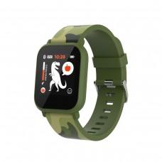 "Canyon ""MyDino"" Kids Watch IPS , Green camouflage - CNE-KW33GB"
