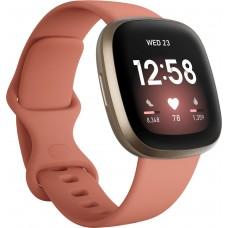 FITBIT Versa 3 Smartwatch - Pink Clay / Χρυσό pn:FB511GLPK