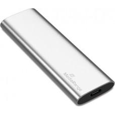 MediaRange Εξωτερικός Σκληρός Δίσκος SSD USB Type-C 120GB (Silver) (MR1100)