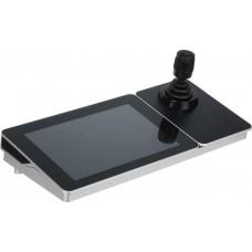 "HIKVISION - DS-1600KI(B) Πληκτρολόγιο με Touch Screen οθόνη LCD 10.1"" και χειριστήριο 4 αξόνων."
