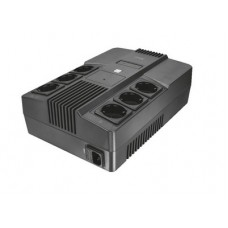 TRUST - Maxxon 800VA UPS with 6 standard wall power outlets - Σύστημα UPS - Εξωτερικό p/n: 23326