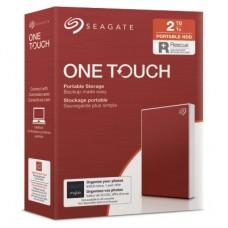 SEAGATE HDD EXT. OneTouch HDD 2TB, STKB2000403, USB3.0, 2.5'', RED Part No: STKB2000403