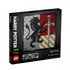 Lego Harry Potter: Hogwarts Crests Poster (31201)