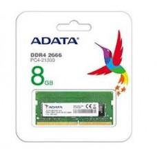 ADATA RAM SODIMM 8GB AD4S266688G19-RGN, DDR4, 2666MHz, CL19, RETAIL, LTW.