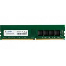 ADATA RAM DIMM 8GB AD4U32008G22-SGN, DDR4, 3200MHz, CL22, SINGLE TRAY, LTW.