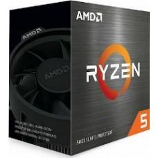 AMD CPU RYZEN 5 5600X, 6C/12T, 3.7-4.6GHz, CACHE 3MB L2+32MB L3, SOCKET AM4, BOX, 3YW.