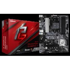ASROCK MB B550 GAMING 4 PHANTOM, SOCKET AMD AM4, CS AMD B550, 4 DIMM SOCKETS DDR4, HDMI, LAN GIGABIT, ATX, 2YW.
