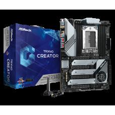 ASROCK MB TRX40 CREATOR, SOCKET AMD sTRX4, CS AMD TRX40, 8 DIMM SOCKETS DDR4, LAN GIGABIT, ATX, 3YW.