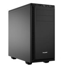 BEQUIET PC CHASSIS PURE BASE 600 BG021, MIDI TOWER ATX, BLACK, W/O PSU, 1X14CM PURE WINGS 2 FAN, 1X12CM REAR PURE WINGS 2 FAN, 3YW.