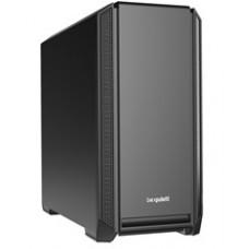 BEQUIET PC CHASSIS SILENT BASE 601 BG026, MIDI TOWER ATX, BLACK, W/O PSU, 1X14CM PURE WINGS 2 FAN, 1X14CM REAR PURE WINGS 2 FAN, 3YW.
