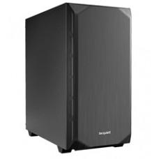 BEQUIET PC CHASSIS PURE BASE 500 BG034, MIDI TOWER ATX, BLACK, W/O PSU, 1X14CM PURE WINGS 2 FAN, 1X14CM REAR PURE WINGS 2 FAN, 3YW.