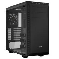 BEQUIET PC CHASSIS PURE BASE 600 WINDOW BGW21, MIDI TOWER ATX, BLACK, W/O PSU, 1X14CM PURE WINGS 2 FAN, 1X12CM REAR PURE WINGS 2 FAN, 3YW.