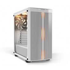 BEQUIET PC CHASSIS PURE BASE 500DX WINDOW WHITE BGW38, MIDI TOWER ATX, WHITE, ARGB, W/O PSU, 3X14CM PURE WINGS 2 FANS (FRONT, TOP, REAR), 3YW