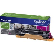 BROTHER TONER TN-247M Magenta, High Yield 2300 PAGES(DCP-L3510CDW, DCP-L3550CDW, HL-L3210CW, HL-L3230CDW, HL-L3270CDW, MFC-L3730CDN, MFC-L3750CDW, MFC-L3770CDW)