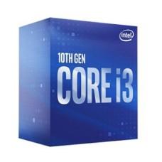 INTEL CPU CORE i3 10100, 4C/8T, 3.60GHz, CACHE 6MB, SOCKET LGA1200 10th GEN, GPU, BOX, 3YW.