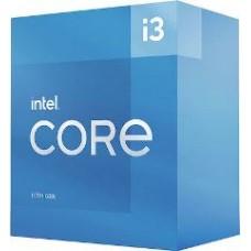 INTEL CPU CORE i3 10105, 4C/8T, 3.70GHz, CACHE 6MB, SOCKET LGA1200 10th GEN, GPU, BOX, 3YW.