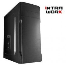 INTRA PC WORK, INTEL CELERON J4125B-ITX, 8GB DDR4 2666MHz, INTEL HD GRAPHICS, 240GB SSD, LAN GB, MIDI TOWER, 500W PSU, MS WIN10  HOME, 3YW.