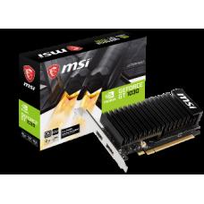 MSI VGA PCI-E NVIDIA GF GT 1030 2GHD4 LP OC, 2GB/64BIT, DDR4, HDMI/DISPLAY PORT, 2 SLOT HEATSINK, 3YW.