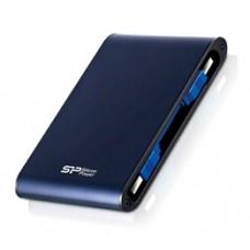 """SILICON POWER EXTERNAL HDD 2.5"""" 2TB ARMOR A80, USB3.0, 5400RPM, POWER VIA USB, BLUE, 3YW."""