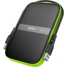 SILICON POWER EXTERNAL HDD 2,5'' 1TB ARMOR A60, USB3.1, POWER VIA USB, BLACK, 3YW.