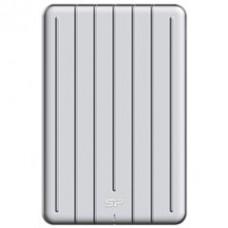"""SILICON POWER EXTERNAL HDD 2.5"""" 1TB ARMOR A75, USB3.1, POWER VIA USB, SILVER, 3YW."""