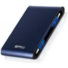 """SILICON POWER EXTERNAL HDD 2.5"""" 1TB ARMOR A80, USB3.0, 5400RPM, POWER VIA USB, BLUE, 3YW."""