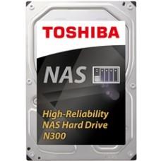 "TOSHIBA HDD 3,5"" 10TB NAS N300 HDWG11AUZSVA, SATA3, 7200 RPM, CACHE 256 MB, 3YW."