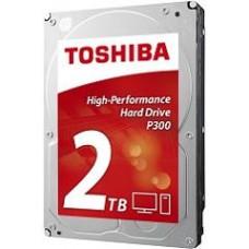 "TOSHIBA HDD 3.5"" 2TB P300 HDWD120UZSVA, SATA3, 7200RPM, CACHE 64MB, BULK, 2YW."