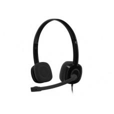 Logitech H151 - Ακουστικά - Μαύρο