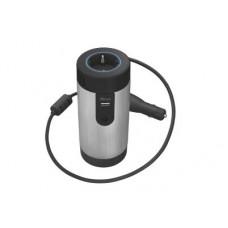 TRUST UR 230 Volt Power Socket - Φορτιστής Αυτοκινήτου - Μαύρο/Ασημί
