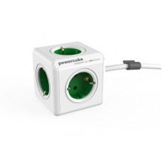 ALLOCACOC PowerCube Extended - Πολύμπριζο - Πράσινο