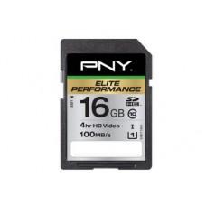 PNY SD16G10ELIPER-EF - SD™ Elite Performance 16GB 100 MB/s
