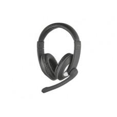 TRUST - Reno Headset for PC and laptop- Ακουστικά - Μαύρο