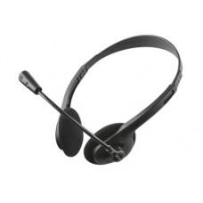 Trust Primo II - Ακουστικά - Μαύρο