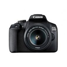 CANON EOS 2000D +EF-S 18-55mm IS II  - κάμερα DSLR - Μαύρο