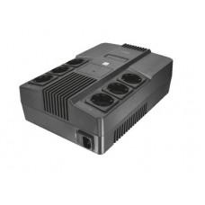 TRUST - Maxxon 800VA UPS with 6 standard wall power outlets - Σύστημα UPS - Εξωτερικό