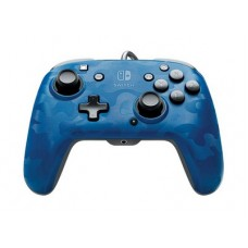 PDP Faceoff Deluxe+ Audio Nintendo Switch Controller - Χειριστήριο - Blue Camo